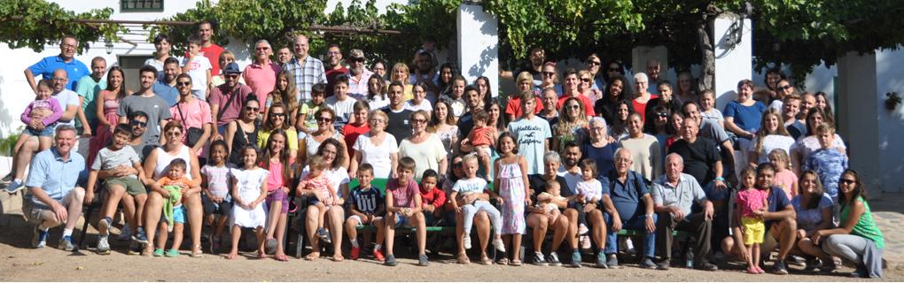 "Grupo participantes campamento familiar ""CIERE"" 2019"